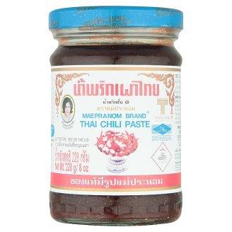 Mae Pranom Thai Chili Paste Nam Prik Pao Chili Paste Sauce 228g By Thaidd - Dried Pepper Shrimp