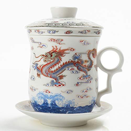 dragon teapot set - 7