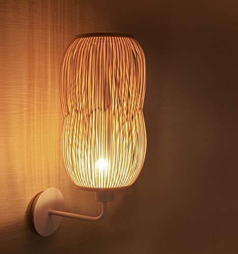 Amazon Arturesthome Handmade Bamboo Bedroom Wall Light Craft