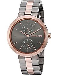 Women's Garner Grey Rose Gold Watch MK6431