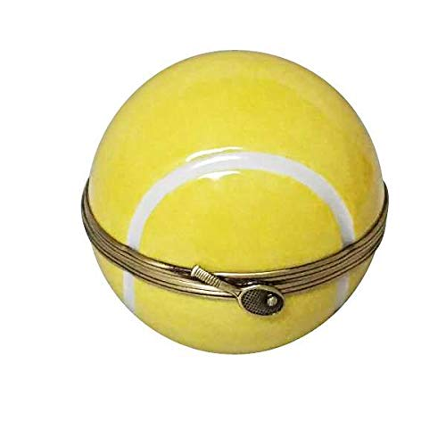 Tennis Ball - French Limoges Boxes - Porcelain Figurines Collectible Gifts