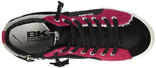 British Knights Rigit - Zapatillas Mujer Negro / Fucsia