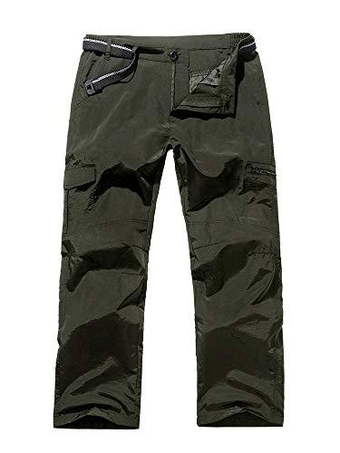 (Jessie Kidden Women's Hiking Nylon Pants Adventure Quick Dry Lightweight Fishing Travel Mountain Trousers #2100-Celadon,26)