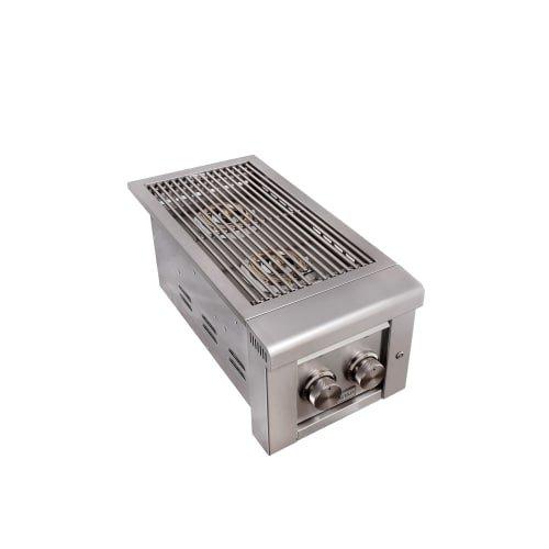 EdgeStar ESB2NG 26000 BTU 13 Inch Wide Natural Gas Side Burner with LED Lighting by EdgeStar
