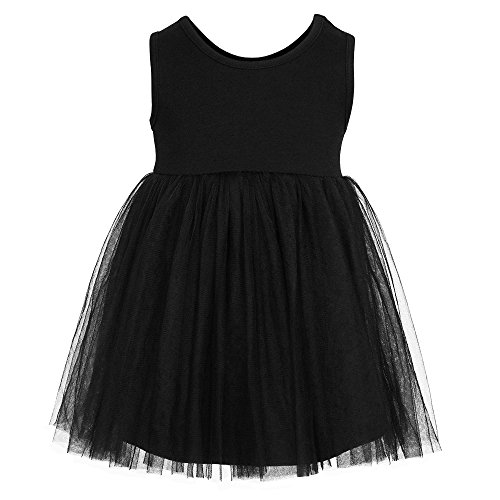 XIER Infant Toddler Baby Girls Tutu Dress Ruffle Gauze 9-48m (18-24m, (Short Tutu Dress)