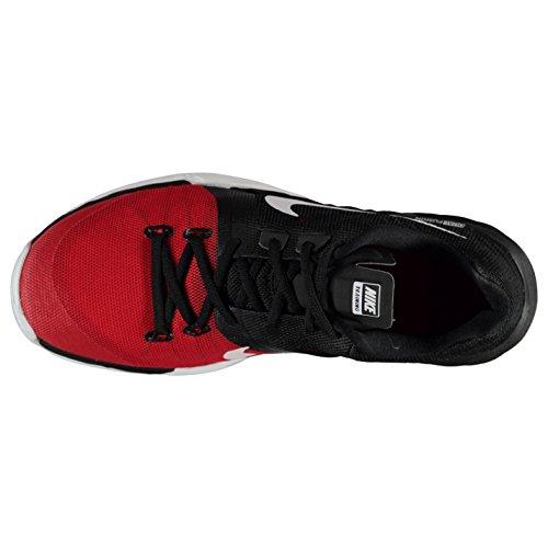Nike Prime Eisen DF TRAINING Schuhe Herren Schwarz/Weiß/Rot Fitness Sportschuhe Sneakers
