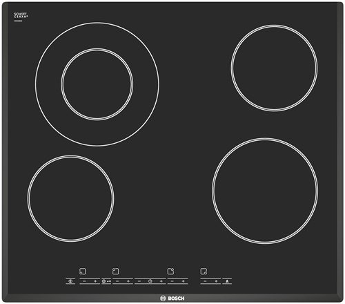 Bosch PKF651T14E Integrado Cerámico Negro hobs - Placa ...