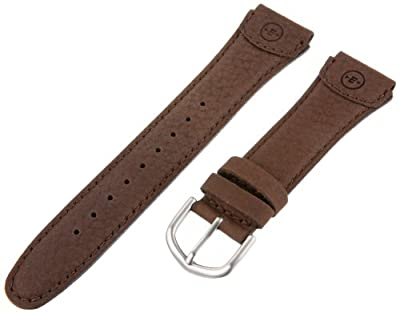 Timex Men's Q7B801 Expedition Sport Leather 20mm Brown Watchband by Timex Watch Bands
