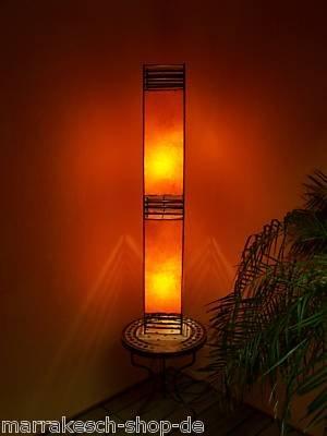 Orient Stehlampe Marrakesch orange 120cm