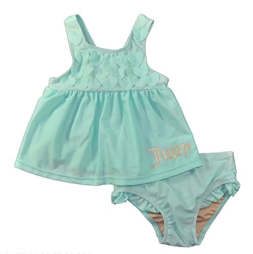 Juicy Couture Baby Girls Aqua 2pc Swimsuit (0/3M)