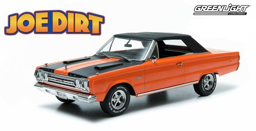 (Greenlight Artisan Collection Joe Dirt (2001) 1967 Plymouth Belvedere GTX Convertible Vehicle (1:18)