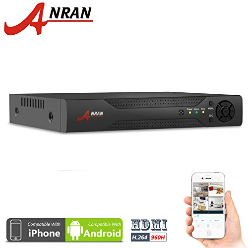 ANRAN 16 Channels H.264 Network Full D1 960H Motion Detection 16CH DVR CCTV Surveillance Security System Digital Video Recorder
