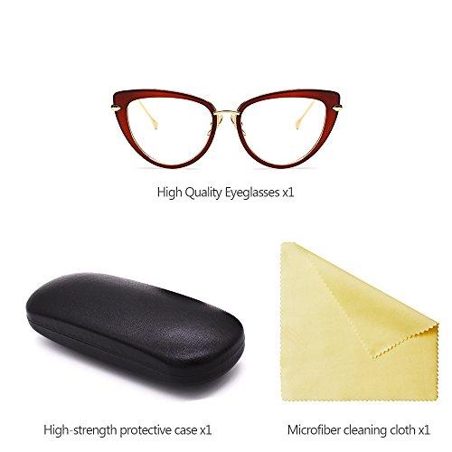 las Caliente de KINDOYO de la Estilo Vendible de UV400 gato Gafas Mujer tamaño de sol de Calidad Vendimia sol del Alta 03 Ojo Gran Gafas de PddWHS