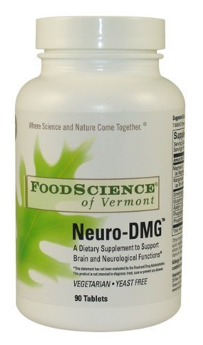 Amazon com : Food Science of Vermont Neuro-DMG Tablets, 90