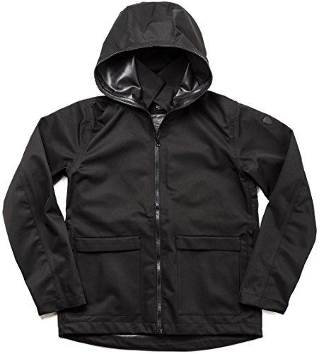 SHIELDS(シールズ) フットゴルフ アウター TREK & TURF ジャケット フーデット レインジャケット M-FB01-01 ブラック XL