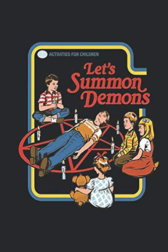 Rituali X Halloween (Let's Summon Demons: Notebook, Journal for Writing, Size 6