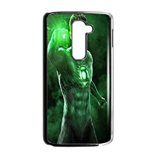 DIY Printed Green Lantern hard plastic case skin cover For LG G2 SNQ102087