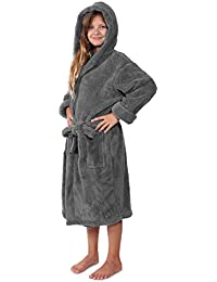 2d954b8625 Indulge Plush Hooded Robe for Kids