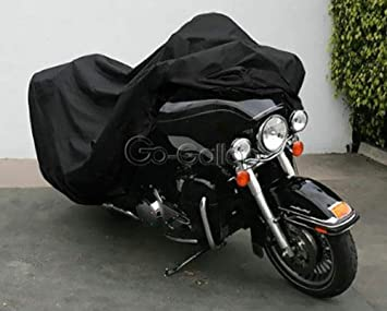 XXL Orange Motorcycle Cover For Davidson Electra Street Tour Glide Road King