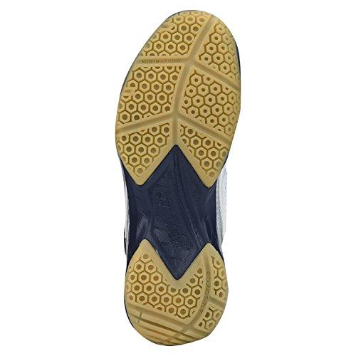 Blanc orange Yonex Chaussures Homme Power Cushion Technologie 35 De Badminton Pour q4wWvaZzq