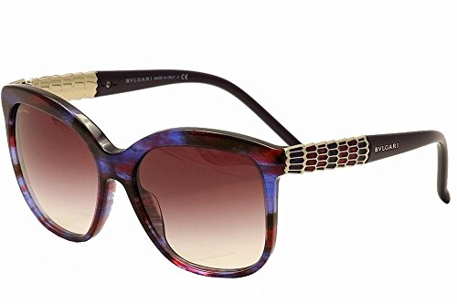 Bvlgari BV8155 53398H Blue / Red Fantasy BV8155 Butterfly Sunglasses Lens Categ