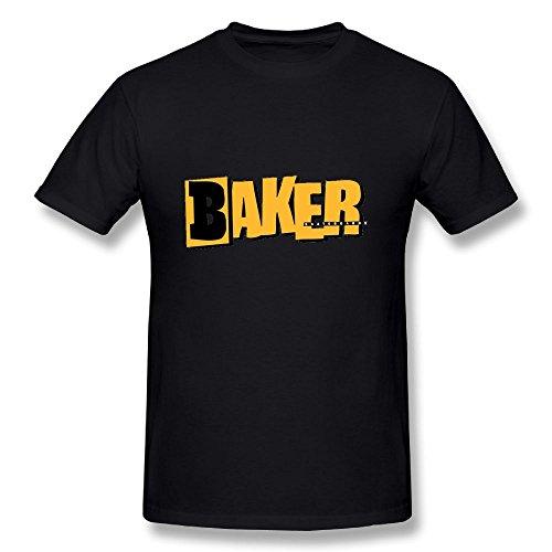 Tuklye Baker Skateboards T-Shirts Baseball Sport Tshirt Short Tees Cool Tshirts