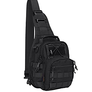 Amazon.com : Reebow Gear Military Tactical Sling Bag Pack EDC ...
