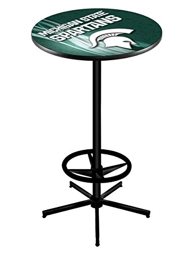 Holland Bar Stool Michigan State University Officially Licensed Pub Table, 28