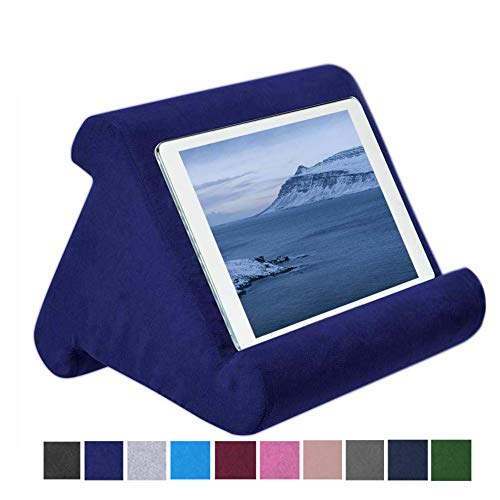 strety Tablet Kissen Kissenhalter Stand, Mini Tablet Computer Halter, Multi-Angle Soft Pillow für Tablets, E-Reader…