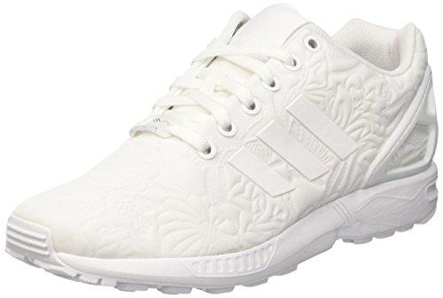 White Femme Blanc Gymnastique Ftwr ZX White Core Black W Ftwr Flux adidas IqzwTxH7n4