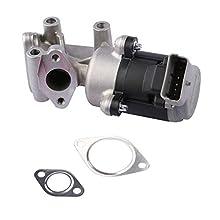 MOSTPLUS - Válvula EGR izquierda LR006995 C2C40183 compatible con 407 Sport LS Discovery C5 C6 2.7 HDI LR018465 LR010124