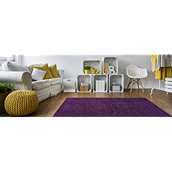 soft shag area rug 3x5 plain solid color purple area rugs for living room