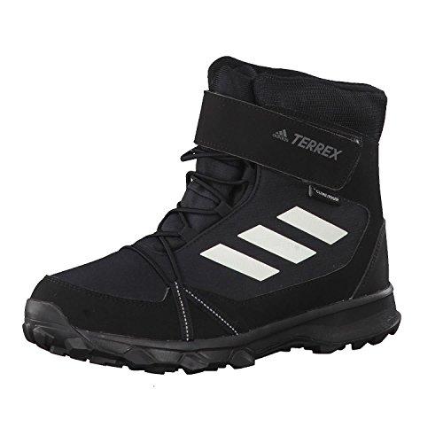 adidas Terrex Snow CF CP CW K, Botas de Senderismo Unisex Niños Negro (Negbas/Blatiz/Gricua)