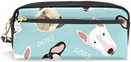 Bonie - Estuche para lápices con diseño de caricatura de caricatura de perro bulldog: Amazon.es: Oficina y papelería