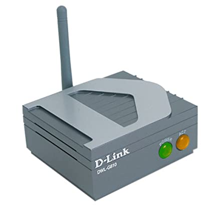 D-Link DWL-G810 Ethernet to Wireless Bridge Adapter, 802 11g, 108Mbps