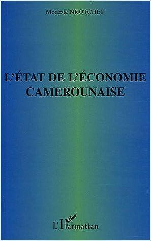 Ebooks En Ligne Telecharger Pdf L Etat De L Economie Camerounaise