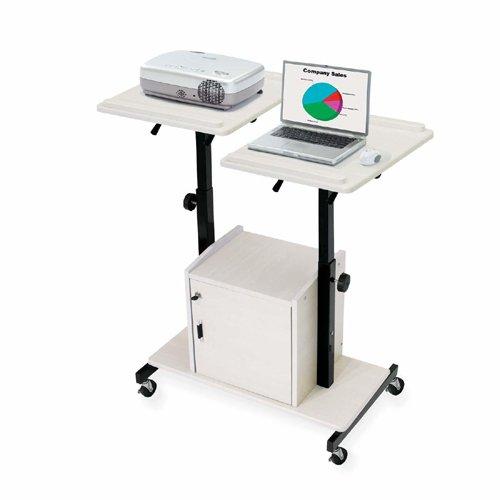 oklahoma-sound-prc300-steel-deluxe-presentation-cart-32-width-x-44-height-x-24-depth-ivory-woodgrain