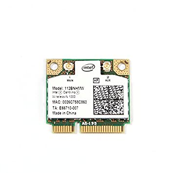 Amazon.com: Intel Centrino Wireless-N 1000 1x2 IEEE 802.11b ...