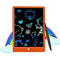 LCD Writing Tablet, 10 Inch Colorful Toddler Doodle Board Drawing Tablet, Erasable Reusable Electronic Drawing Pads…
