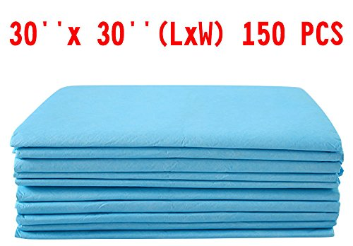 150 PCS 30'' x 30'' Puppy Pet Pads Dog Cat Wee Pee Piddle Pad training underpads from Unknown