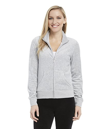 juicy-couture-black-label-womens-velour-fairfax-fitted-jacket-silver-lining-grey-m