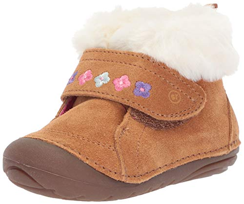 Product image of Stride Rite Kids Sophie Baby Girl's Adjustable Suede Boot Ankle