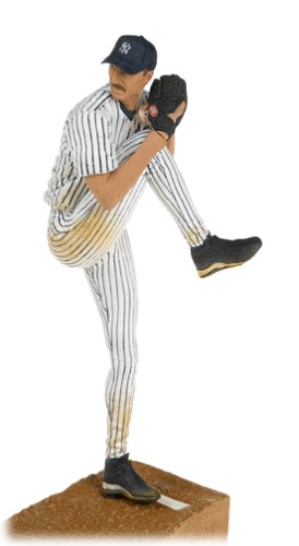 Amazon.com: MLB Series 13 Figure: Randy Johnson #41 New York Yankees Pitcher Pinstripe Jersey: Toys & Games