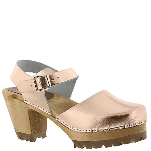 Gold Clog Women's Rose Inspired MIA Abba Sandal 41wgnq7