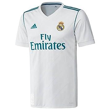 56dd257897199 REAL-MADRID Camiseta 1ª Equipación Replica Oficial 2017-2018 DORSAL S.RAMOS  TALLA 12 JUNIOR  Amazon.es  Deportes y aire libre