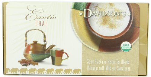 Davidson's Tea Single Serve Classic Chai, 100-Count Tea Bags