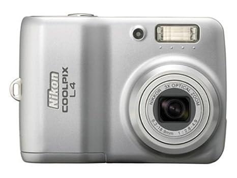 Nikon Coolpix L4 Cámara Digital 4.23 megapíxeles Plata ...