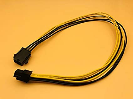 PCI-E PCI Express 6P Male to 6Pin Male Graphics Power Cable Extended Miner Wire