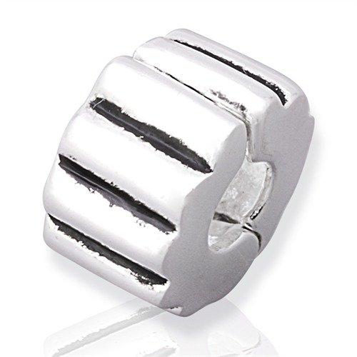 925 Silber Stopper von Unique für Bead Armbänder mit Gewinde BX0002 BX-2
