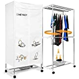MeyKey Portable Clothes Dryer Heater 1000W Electric Drying Rack (Anion) Folding Dryer Quick Dry for homes